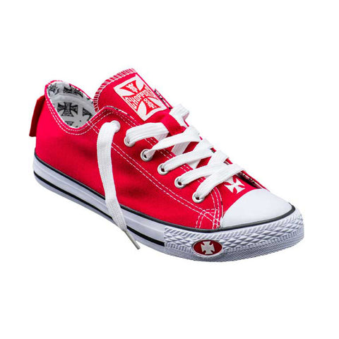 Warriors Low-Top Red
