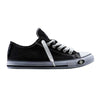 Warriors Low-Top Black