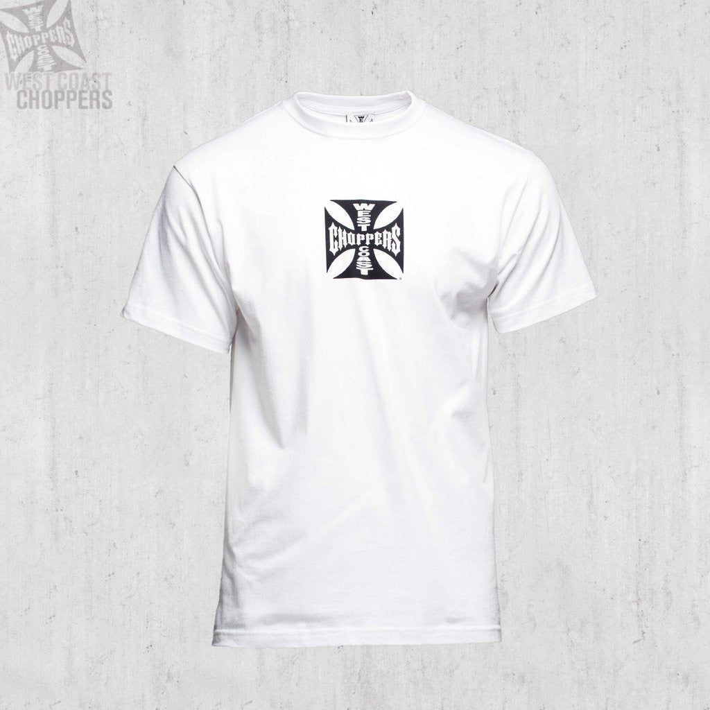 West Coast Choppers OG Cross Tee in white