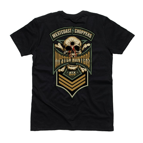 Hipster Hunters Tee - Black