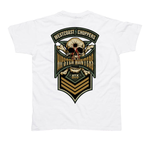 Hipster Hunters Tee - White