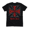 Web Cross Tee - Black