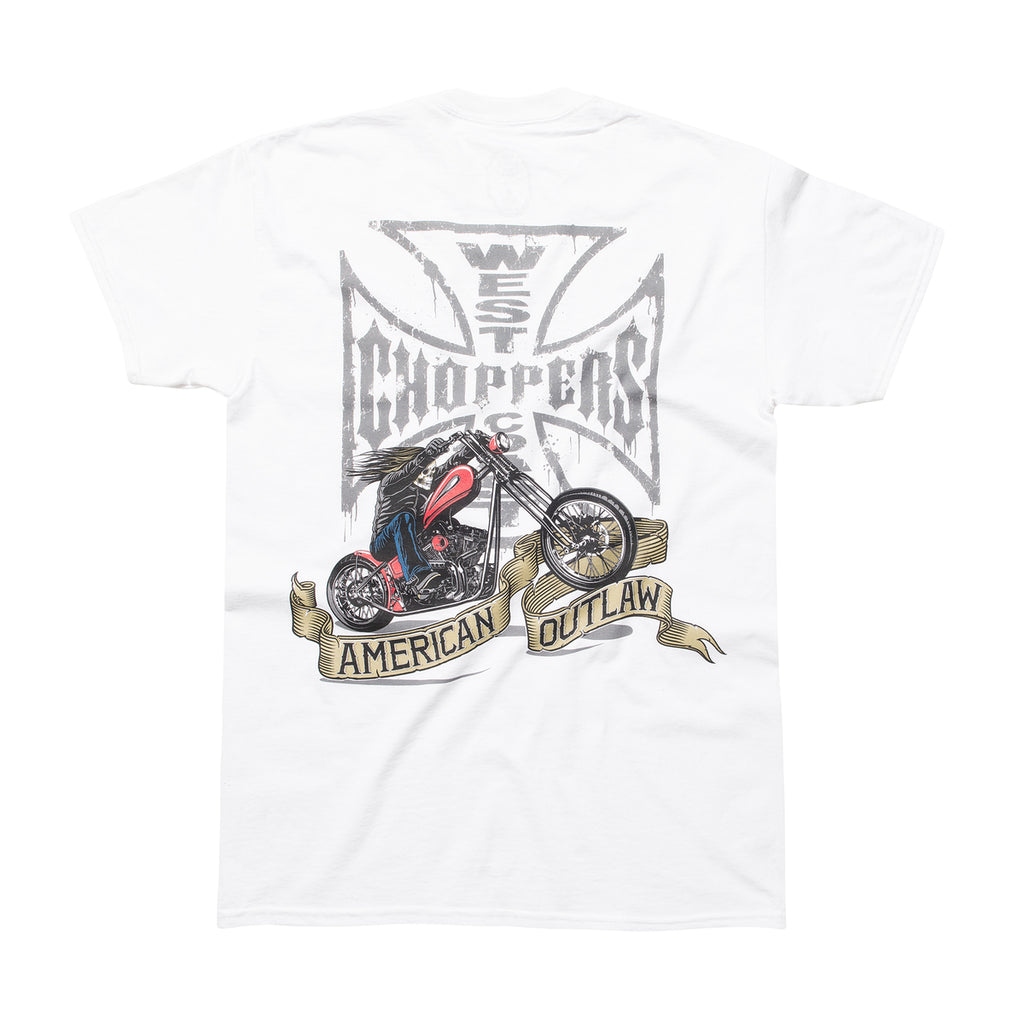 American Outlaw Tee - White