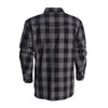 CE Tested Dominator Waterproof Riding Shirt - Grey Black