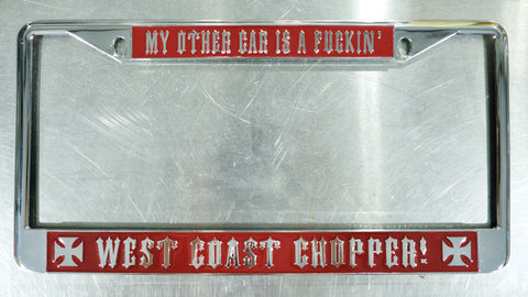 New Old Stock License Plate Frame