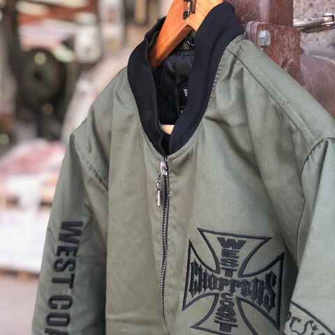 Block Jacket - Military Green