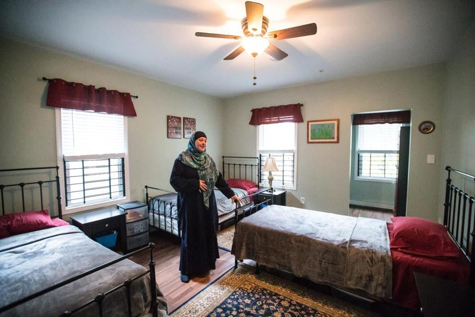 For Muslim women, a home to call their own