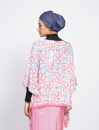 Short Butterfly Chiq Set - Pink-Blue