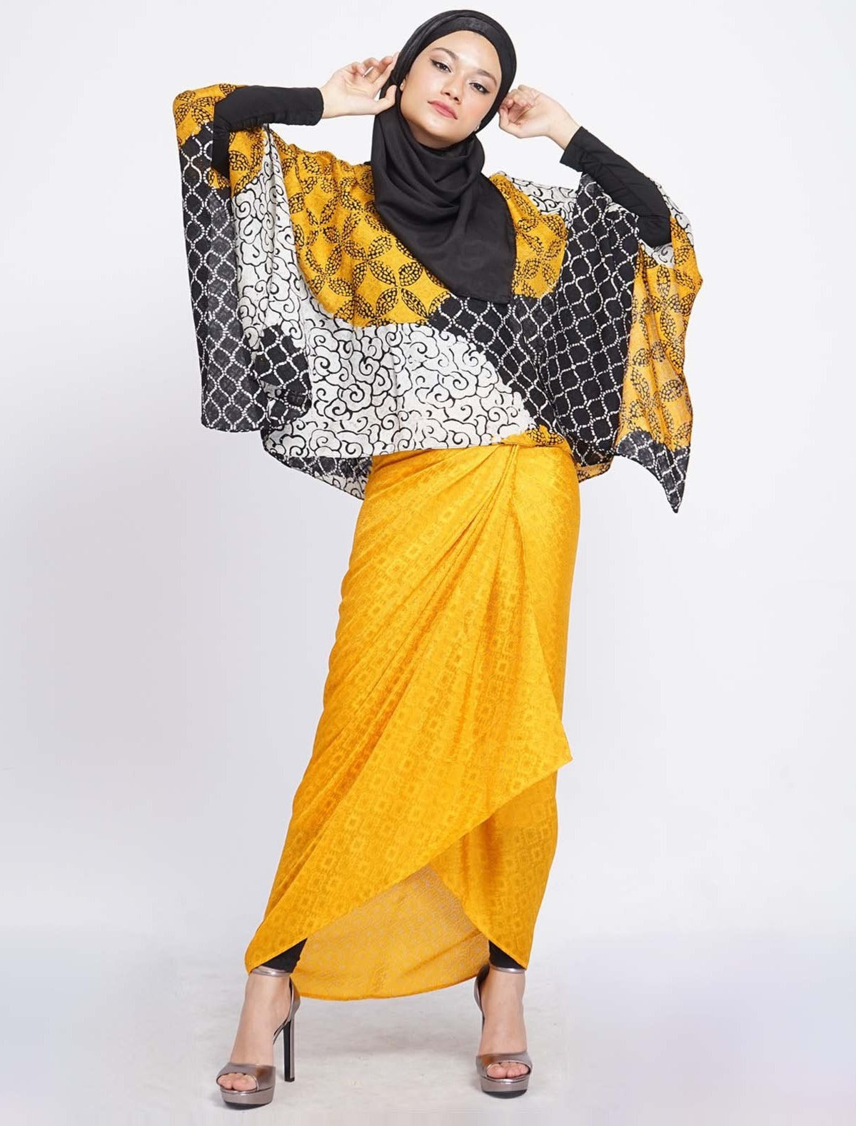 Short Butterfly Folia Set - Yellow