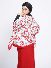 Short Butterfly Chiq Set - Red
