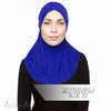 Slip-On Double-V Ninja Underscarf - Blue (Small)