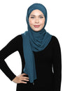 Lux Turban Soft Jersey - Denim Green
