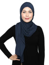 Lux Turban Soft Jersey - Denim Navy