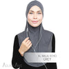 Adlina Anis - XL Ninja Echo - Grey