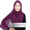 Adlina Anis - Chiffon Shawl Onesie - Purple Potion