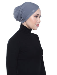 Aqua Sol Swim Turban - Grey