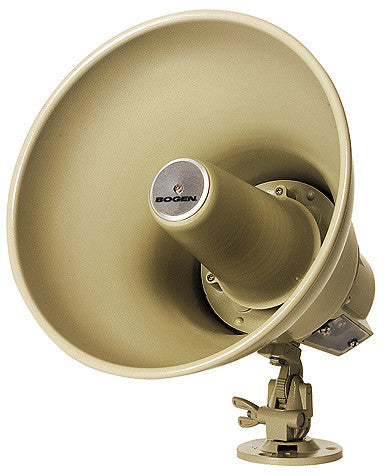 Bogen 15 Watt Horn Loudpeaker with transformer weatherproof