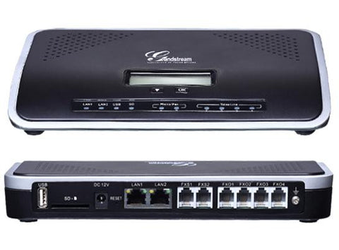 Grandstream - UCM6204 VoIP SIP PBX, NAT Router