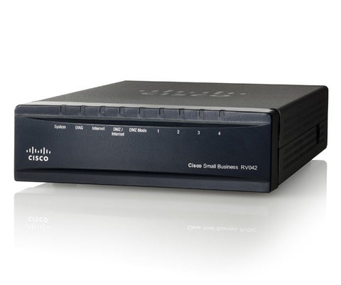 Cisco 4-port 10/100 Ethernet IPSec VPN Router