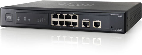 Cisco 8-port 10/100 Ethernet IPSec VPN Router