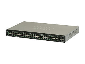 Cisco SG500-52P 52-port Gigabit Stackable Managed Switch with
