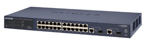 ProSafe 24-Port 10/100 Smart Switch with 12-Port PoE