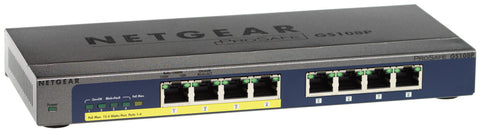 Netgear ProSafe 8-port 10/100/1000 Gigabit Switch with 4-port