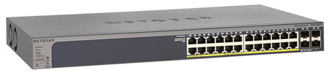 ProSafe 24-port 10/100/1000 Gigabit Smart PoE Switch