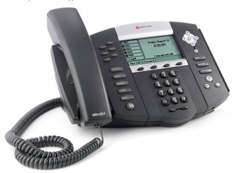 Polycom VoIP IP650 Telephone PoE 6x Calls HD