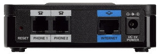 Cisco VoIP SIP SPA112 ATA with 2 x