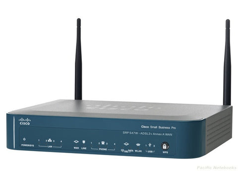 Cisco SRP547W ADSL 2+ Modem ATA/Router 4x GigE