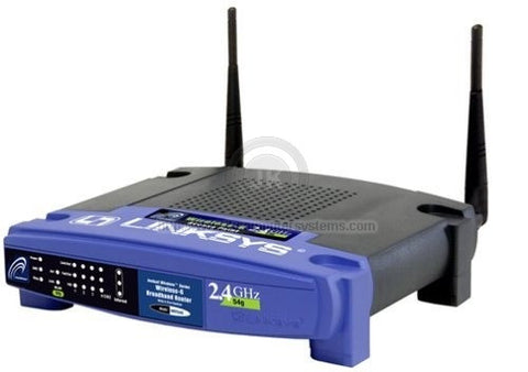 Cisco Linksys 4-port 10/100 Wireless 802.11b/g Broadband Router