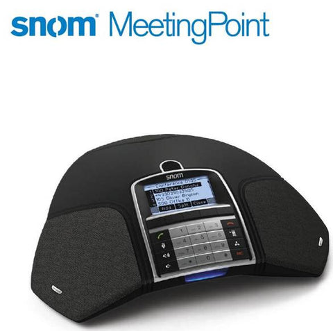 snom VoIP SIP OmniSound Wideband Conference Telephone