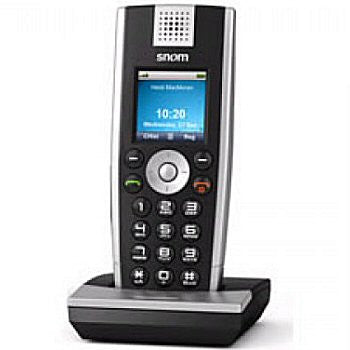 snom VoIP SIP DECT M9r Wireless color handset.