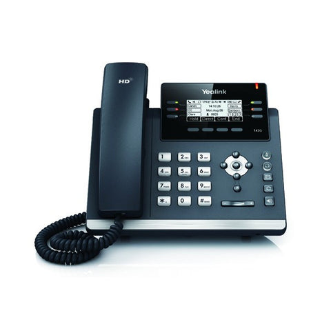 Yealink-VoIP SIP T42G phone (PoE required