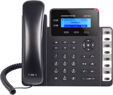 Grandstream VoIP SIP GXP1628 Desk Phone