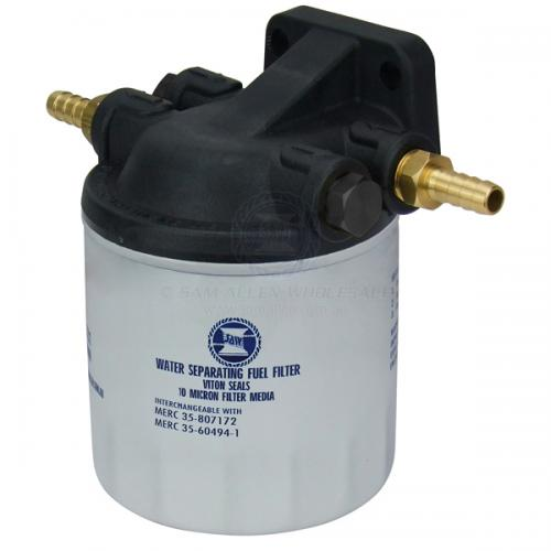 SAW Mercury Replacement Water Separating Fuel Filter Element with Head 35-60494-1 & 35-807172
