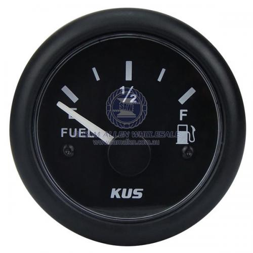 KUS Fuel Tank Gauge 240-33 OHMS - Black or White