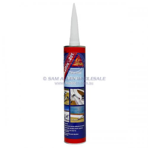 Sikaflex 291 Marine Adhesive & Construction Sealant 310ml Cartridge - Black