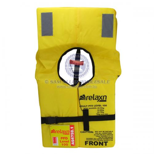 Relaxn Standard Foam PFD1 L100 Lifejacket Safety Equipment