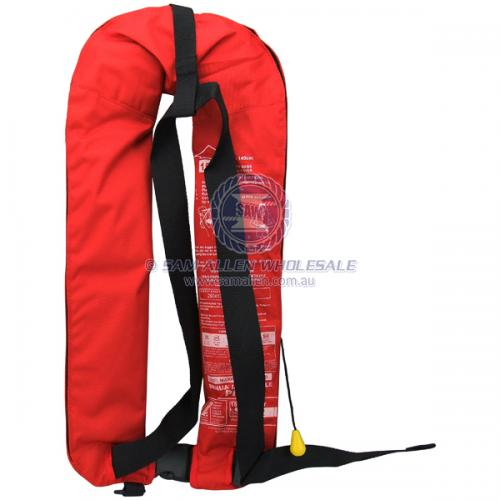 Relaxn Manual Inflatable 150N Lifejacket Safety Equipment