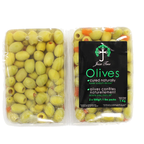 Jesse Tree Green Olives Stuffed With Pepper