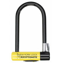 "Kryptonite New York STD U-Lock with Bracket: 4"" x 8"""