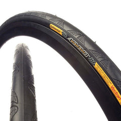 Continental Grand Prix 4000 S II Tire 700x25 Black Folding Bead and Black Chili Rubber