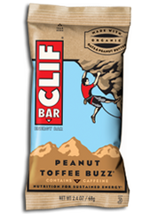 Clif Bar Peanut Toffee Buzz each
