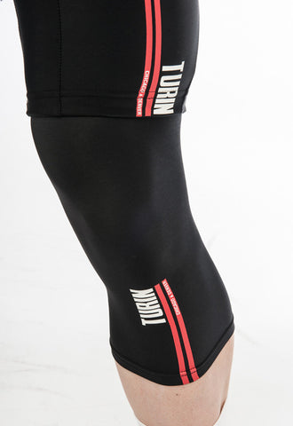 Turin Thermo Knee Warmer Blk