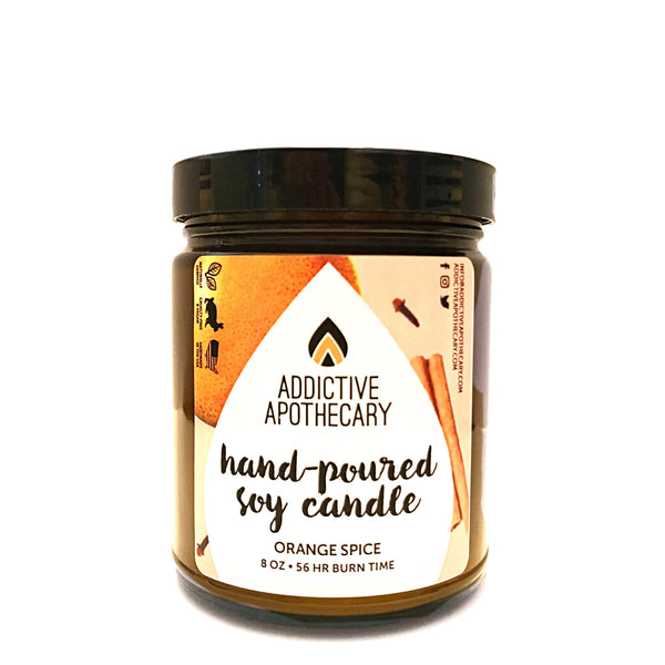 Orange Spice Soy Candle