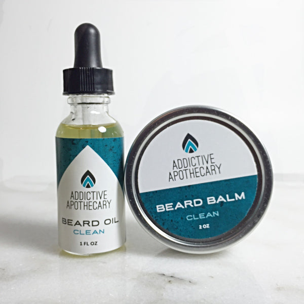 Clean Beard Treatment Set