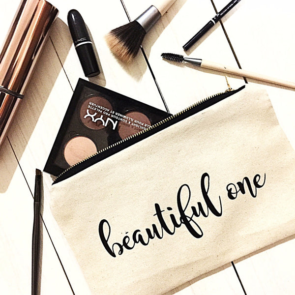 Beautiful One Makeup Bags