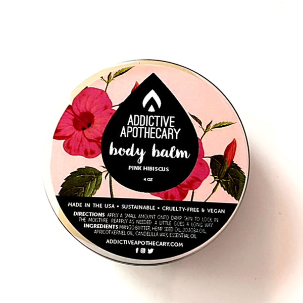 Pink Hibiscus Body Balm